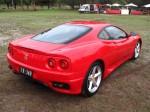 Right   Melbourne Ferrari Concours 1 April 2007: Ferrari 360 Modena - red rear right 1