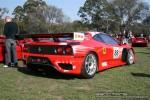Right   Melbourne Ferrari Concours 20 April 2008: Ferrari 360 N-GT Michelotto - rear right 2 (Ferrari Concours, Como Oval North, Toorak, 20 April 08)