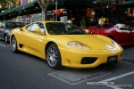 Car   Exotic Spotting in Melbourne: Ferrari 360 Spider [F360] - front right (Lygon St, Carlton, Vic, 16 March 08)