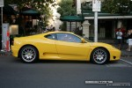 Car   Exotic Spotting in Melbourne: Ferrari 360 Spider [F360] - profile right (Lygon St, Carlton, Vic, 16 March 08)