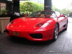 FE   Exotic Spotting in Melbourne: Ferrari 360 Spider [FP] - front left (Crown Casino, Vic, 14 March 08)