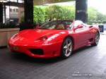 Ferrari   Exotic Spotting in Melbourne: Ferrari 360 Spider [FP] - front left 2 (Crown Casino, Vic, 14 March 08)