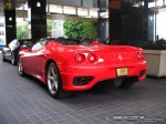 Left   Exotic Spotting in Melbourne: Ferrari 360 Spider [FP] - rear left 1 (Crown Casino, Vic, 14 March 08)