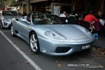 Usa   Exotic Spotting in Melbourne: Ferrari 360 Spider [USA-143] - front right 1 (Lygon St, Carlton, Vic, 16 March 08)