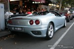 Usa   Exotic Spotting in Melbourne: Ferrari 360 Spider [USA-143] - rear right (Lygon St, Carlton, Vic, 16 March 08)