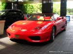 Ferrari _360 Australia Exotic Spotting in Melbourne: Ferrari 360 Spider - front left (Crown Casino, Vic, 15 March 08)