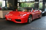 Exotic Spotting in Melbourne: Ferrari 360 Spider - front left (Crown Casino, Vic, 2 March 08)