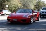 Exotic Spotting in Melbourne: Ferrari 360 Spider - front left 1 (South Yarra, Vic, 6 April 08)