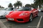 Melbourne   Exotic Spotting in Melbourne: Ferrari 360 Spider - front left 1a (Port Melbourne, Vic)