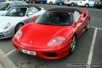 Exotic Spotting in Melbourne: Ferrari 360 Spider - front left 2 (Port Melbourne)