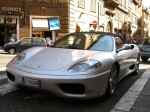 Italy   Exotic Spotting in Europe: Ferrari 360 Spider - front left low (Rome, Italy, 13 May 2006)