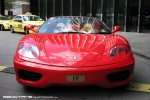 98octane Photos Exotic Spotting in Melbourne: Ferrari 360 Spider - front right (Crown, Vic, 26 Mar 09)