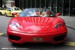 Ferrari   Exotic Spotting in Melbourne: Ferrari 360 Spider - front right (Crown, Vic, 26 Mar 09)