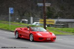 Right   Exotic Spotting in Melbourne: Ferrari 360 Spider - front right (Healesville, Vic, 29 Aug 2010)