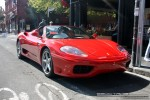 Exotic Spotting in Melbourne: Ferrari 360 Spider - front right 1 (Chapel St, South Yarra, Vic, 6 April 08)