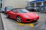 Melbourne   Exotic Spotting in Melbourne: Ferrari 360 Spider - front right 2 (Port Melbourne, Vic, 18 Oct 08)