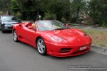 Ferrari   Exotic Spotting in Melbourne: Ferrari 360 Spider - front right 3 (Glen Waverley, Vic, 1 Nov 08)