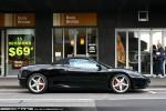 23   Exotic Spotting in Melbourne: Ferrari 360 Spider - profile right (Pt Melbourne, Vic, 23 Aug 09)