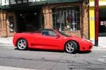 Exotic Spotting in Melbourne: Ferrari 360 Spider - profile right (Toorak, Vic, 18 Oct 08)