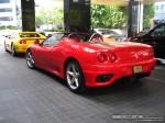 Exotic Spotting in Melbourne: Ferrari 360 Spider - rear left (Crown Casino, Vic, 15 March 08)