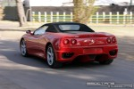 Gran   Exotic Spotting in Melbourne: Ferrari 360 Spider - rear left (Grand Prix site, Albert Park, Vic, 16 March 08)a