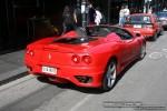 Ferrari   Exotic Spotting in Melbourne: Ferrari 360 Spider - rear right 2 (Chapel St, South Yarra, Vic, 6 April 08)
