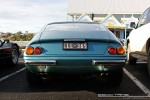 Blue   Ferraris and Aston Martins in Mornington: Ferrari 365 GTB4 Daytona (blue) - rear 1 (Mornington, Victoria, 14 Jun 09)
