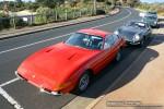 Gto   Ferraris and Aston Martins in Mornington: Ferrari 365 GTB4 Daytona (red) - front left 3 (Mornington, Victoria, 14 Jun 09)