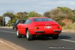 1   Ferraris and Aston Martins in Mornington: Ferrari 365 GTB4 Daytona (red) - rear left (Mornington, Victoria, 14 Jun 09)