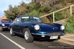 Blue   Ferraris and Aston Martins in Mornington: Ferrari 365 GTC (blue) - front right 1 (Mornington, Victoria, 14 Jun 09)