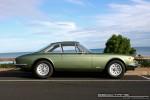 Right   Ferraris and Aston Martins in Mornington: Ferrari 365 GTC (green) - profile right 1b (Mornington, Victoria, 14 Jun 09)