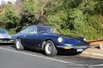 In   Ferraris and Aston Martins in Mornington: Ferrari 365 GT 2+2 - front right 2 (Mornington, Victoria, 14 Jun 09)