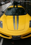 Ferrari   Exotic Spotting in Melbourne: Ferrari 430 Scuderia - front (Richmond, Vic, 14 Mar 09)