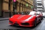 Exotic Spotting in Melbourne: Ferrari 430 Scuderia - front left 2 (Melbourne, Vic, 27 Nov 09)