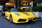 98octane Photos Exotic Spotting in Melbourne: Ferrari 430 Scuderia - front right 1 (Crown Casino, Vic, 29 Mar 09)