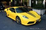 Right   Exotic Spotting in Melbourne: Ferrari 430 Scuderia - front right 4 (Crown Casino, Vic, 29 Mar 09)