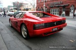 2TR   Exotic Spotting in Melbourne: Ferrari 512TR - front left 1 (South Yarra, Vic, 19 July 08)