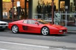 2TR   Exotic Spotting in Melbourne: Ferrari 512TR - front right (South Yarra, Vic, 19 July 08)
