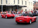Australia   Ferrari's 60th Anniversary Parade Melbourne 3 March 2007: Ferrari 550 Barchetta - rear right (Lygon St, Carlton, VIC, Australia, 3 March 2007)