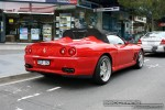 Ferrari   Exotic Spotting in Melbourne: Ferrari 550 Barchetta - rear right 2 (South Yarra, Vic, 30 March 08)