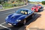 GT   Ferraris and Aston Martins in Mornington: Ferrari 550 Maranello [803LPT] - front left 2 (Mornington, Victoria, 14 Jun 09)