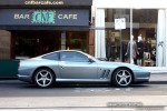 Ferrari   Exotic Spotting in Melbourne: Ferrari 550 Maranello - profile right (South Yarra, Victoria, 21 Mar 09)