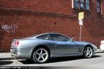 Right   Exotic Spotting in Melbourne: Ferrari 550 Maranello - rear right 2 (South Yarra, Vic, 19 Dec 09)