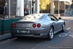 550   Exotic Spotting in Melbourne: Ferrari 550 Maranello - rear right 2 (South Yarra, Victoria, 21 Mar 09)