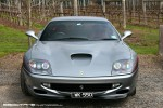 Ferrari Club of Victoria 2010 AGM (Stones, Yarra Valley): Ferrari 550 Maranello - silver 2 (Stones, Yarra Valley, Vic, 19 Sept 2010)