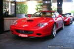 Australia   Exotic Spotting in Melbourne: Ferrari 575M Maranello - front left 1 (Crown Casino, Victoria, Australia)