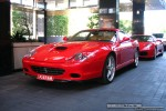 Australia   Exotic Spotting in Melbourne: Ferrari 575M Maranello - front left 2 (Crown Casino, Victoria, Australia)