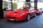Left   Exotic Spotting in Melbourne: Ferrari 575M Maranello - front left 2 (Crown Casino, Victoria, Australia)