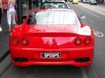 Photos street Australia Exotic Spotting in Melbourne: Ferrari 550