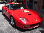 Exotic Spotting in Europe: Ferrari 575 Maranello - front right - Dustball 4000 Rally (Piazza Republica, Florence, Italy, 17-Jun-06)
